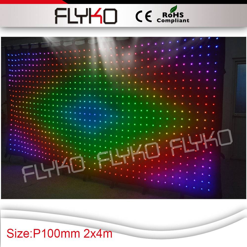 free shipping indoor&outdoor flexible led strip curtain xxxvideo led light stage curtain ...