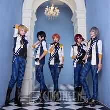 Костюм для косплея ONSEN Ensemble Stars Knights Tsukasa Suou Izumi Sena Leo Tsukinaga Arashi Narukami Ritsu Sakuma