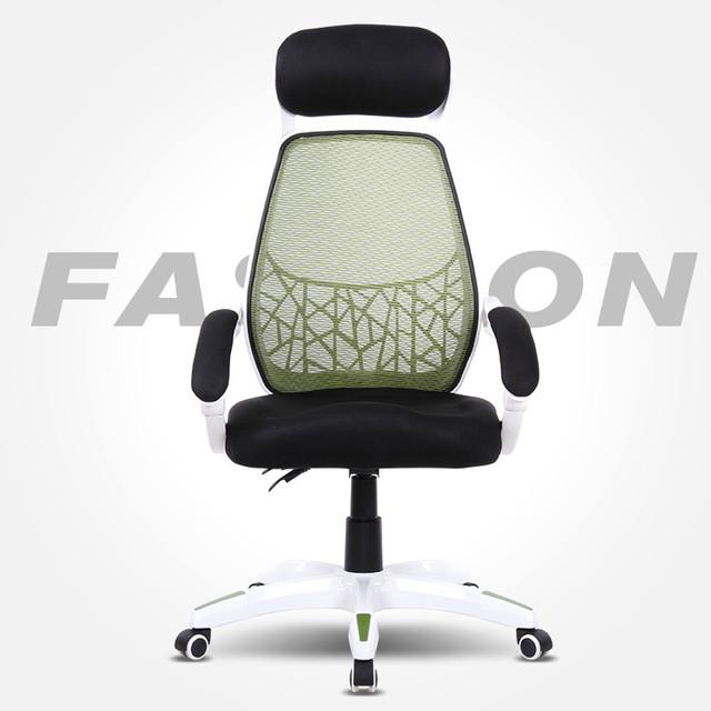 Jogo de computador de alta qualidade da moda moderna cadeira ergonómica do escritório cadeira patrão cadeira pé da liga de alumínio 8 cores opção