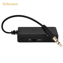 Dehyaton Mini 3.5mm Bluetooth Audio Transmitter A2DP Stereo Dongle Adapter for TV iPod Mp3 Mp4 PC Bluetooth Audio Music Receiver