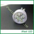 Camaleão muda de cor levou lâmpada de pixel 45mm RGB lâmpada luz de diversões