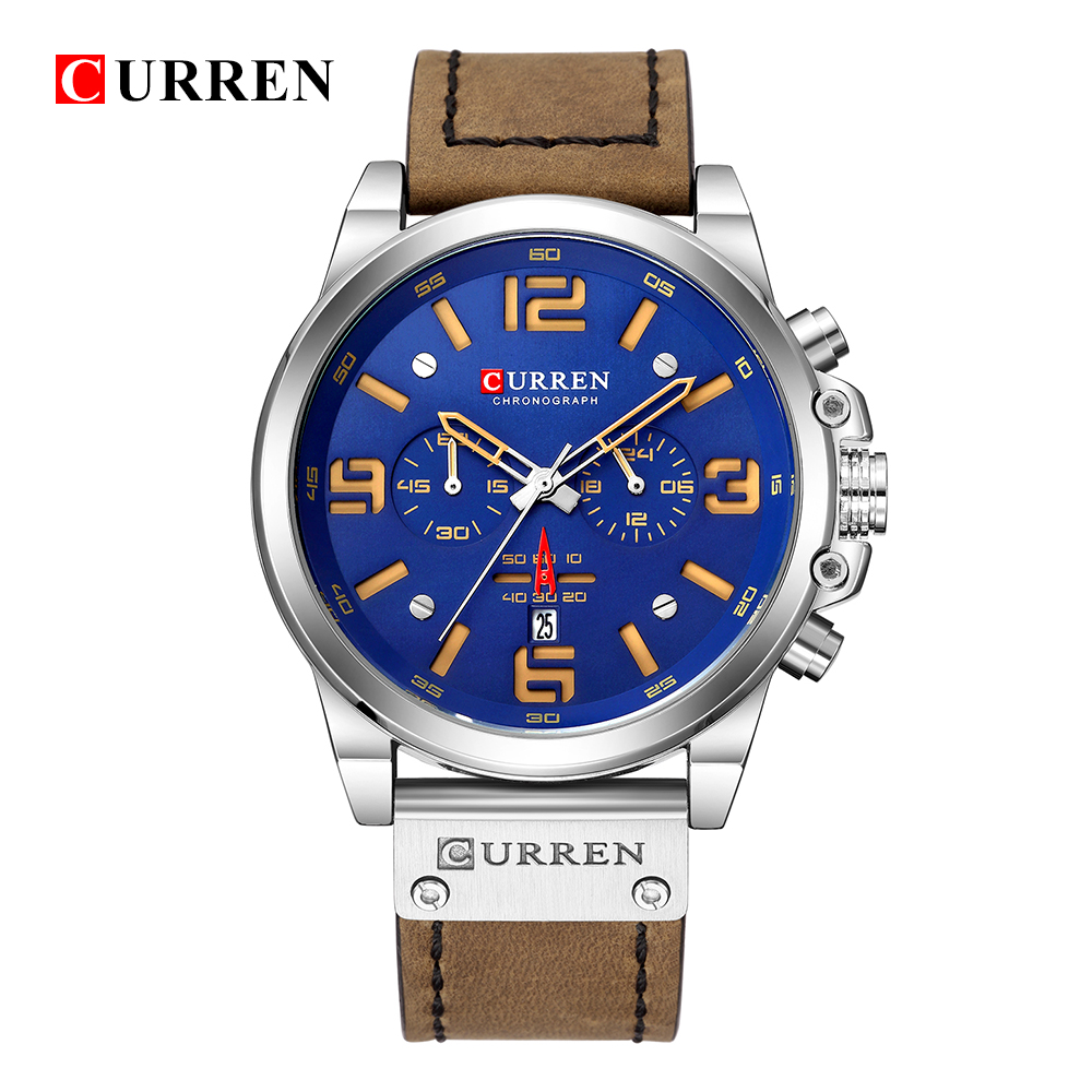 CURREN 8314 Casual Waterproof Watch 6