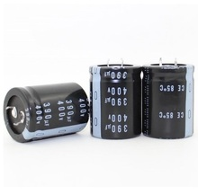 400v 390uf 390uf 400v Electrolytic Capacitor  volume 30*40MM best quality