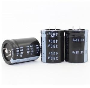 Image 1 - 400v 390uf 390uf 400v Electrolytic Capacitor  volume 30*40MM best quality
