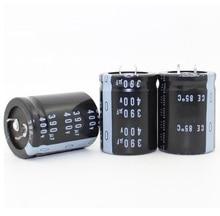 400v 390uf 390uf 400v Volumen de capacitador electrolítico 30*40MM de la mejor calidad