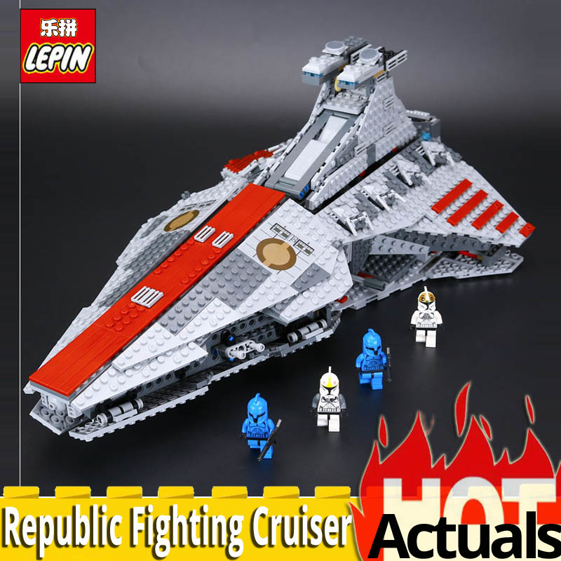 2018 Lepin 05042 Star Series The Republic Fighting Cruiser Set Building Blocks Bricks Educational Toys 8039 Educational Toys War 72pcs educational building blocks set