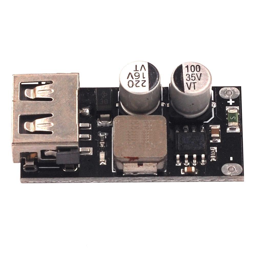 QC3.0 QC2.0 USB DC-DC Buck Converter Charging Step Down Module 6-32V 9V 12V 24V to Fast Quick Charger Circuit Board 3V 5V 12VQC3.0 QC2.0 USB DC-DC Buck Converter Charging Step Down Module 6-32V 9V 12V 24V to Fast Quick Charger Circuit Board 3V 5V 12V