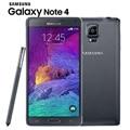 "Original Unlocked Samsung Galaxy Note 4 N910 N9100 LTE 4G Mobile Phone 16.0MP 5.7"" NFC 3GB RAM 16G/32GB ROM Android Smartphone"