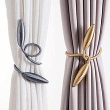 Arbitrary shape strong Curtain Tiebacks Plush Alloy Hanging Belts Ropes Curtain Holdback Curtain Rods Accessoires(China)