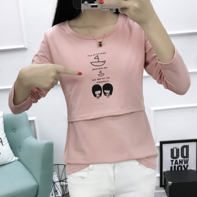 Cute and Trendy Nursing T-shirt for Breastfeeding Moms | Autumn 2017 Collections