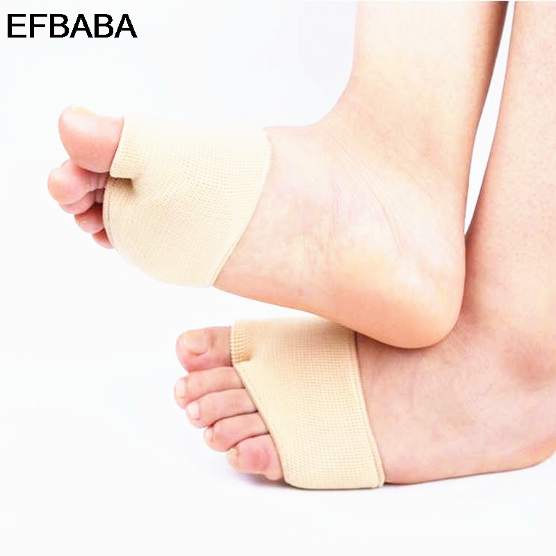EFBABA Orthopedic Insoles Nylon Silicone Insole Forefoot Pads Hallux Valgus Breathable Shoe Insole Orthopedic Shoes Pad Inserts expfoot orthotic arch support shoe pad orthopedic insoles pu insoles for shoes breathable foot pads massage sport insole 045