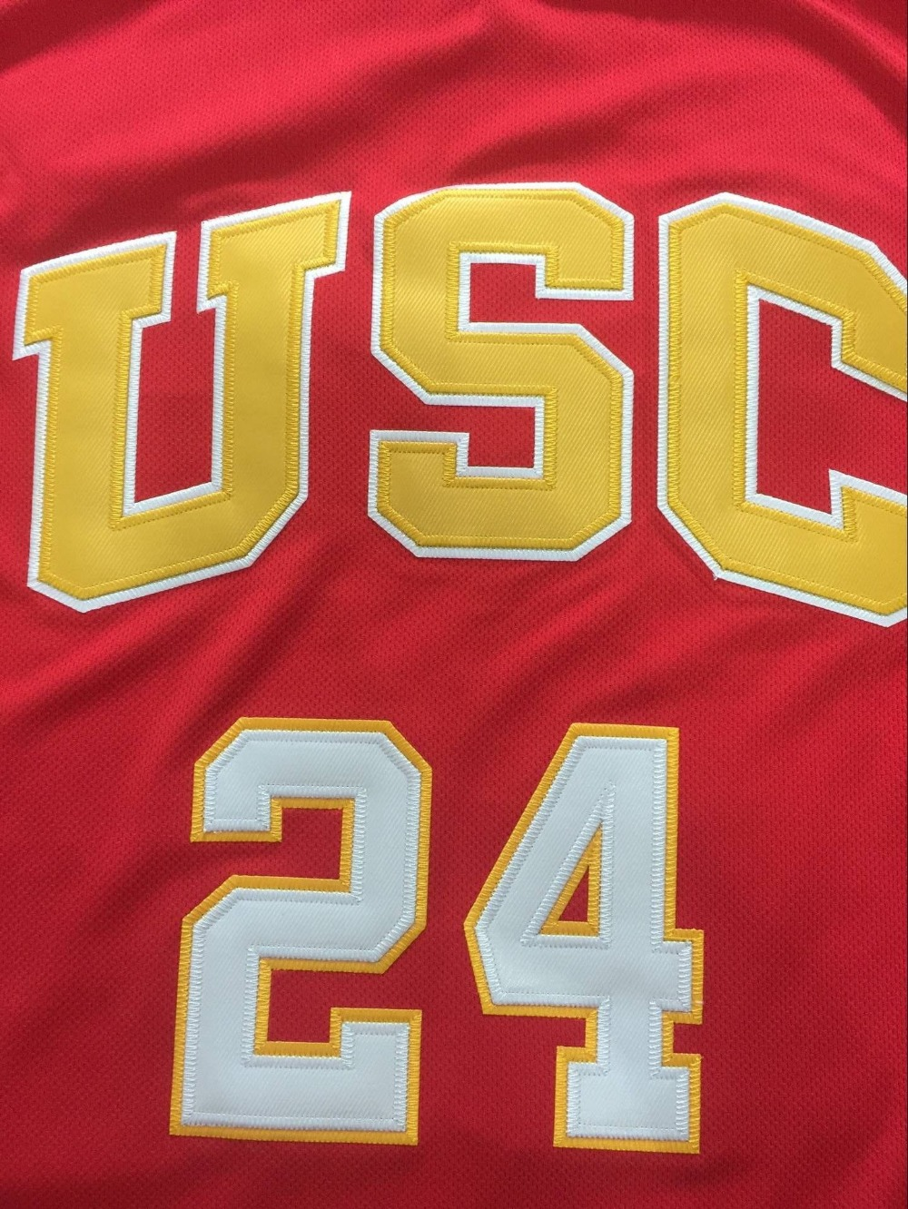 australia usc trojans 24 brian scalabrine usc university of southern  california jerseymen throwback college basketbal 8cc1f 91397a094