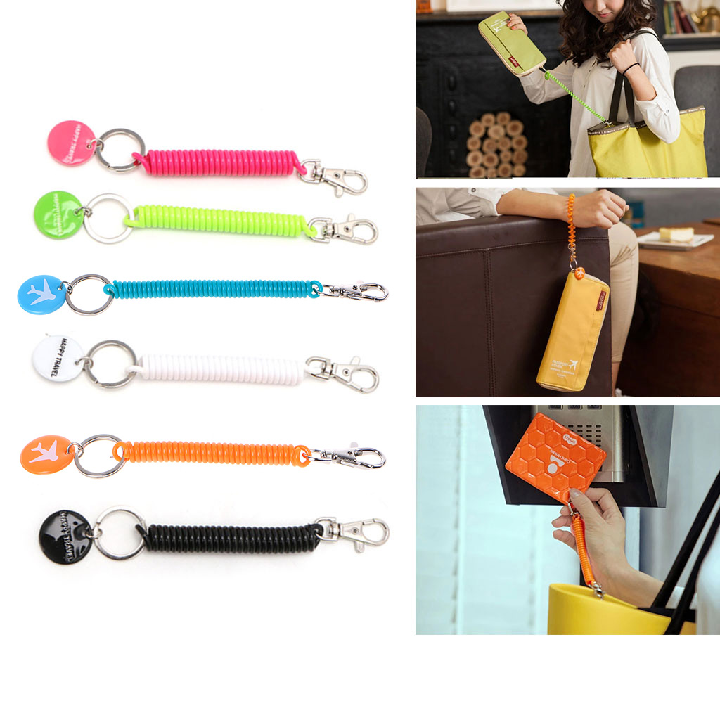 New Anti-lost Strap For Key Chain Phone Passport Pouch Wallet Purse Travel Accessory
