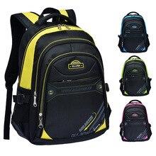 2017 New Large Capacity Children School Bags For Boys Girls Orthopedic Backpacks Men s Leisure Travel