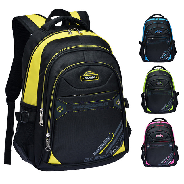 2017 New Large Capacity Children School Bags For Boys Girls Orthopedic Backpacks Men's Leisure Travel Backpack Laptop Bags