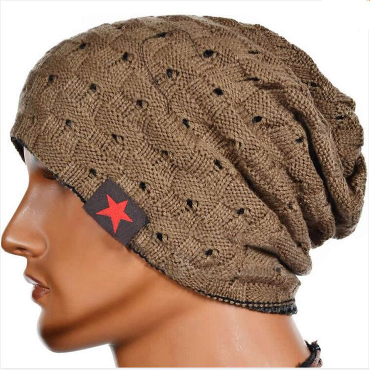 978707abfb137 IMC Winter Warm New Fashion Men Skull Chunky Women Knit Beanie Reversible  Baggy Cap Warm Unisex Hat HB88-in Skullies   Beanies from Apparel  Accessories on ...