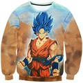 Autumn Mens Sweatshirt Hoody 3D dragon ball Print Hoodies Sweatshirt Men Long Sleeve Sweatshirts Male Casual Pullover Men Hoodie