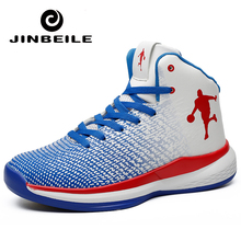 2018 Women Men Basketball Shoes for Outdoor Couple Sneakers Sports Shoes Zapatillas Basquetbol Basket Homme Boots Big Size 47 lifestyle basketball shoes for lovers newest 2016 basketball sneakers men and women boots lace up basket homme four season