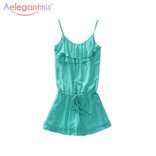 4622b57b25719 Popular Green Chiffon Jumpsuit-Buy Cheap Green Chiffon Jumpsuit lots ...
