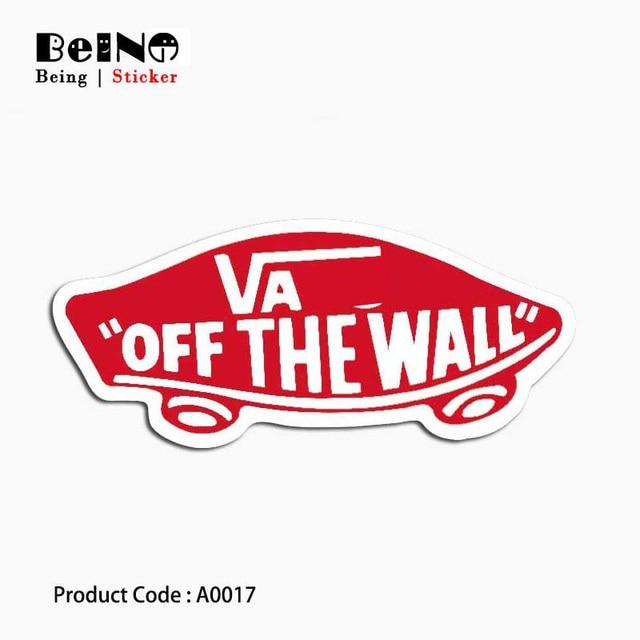 ואן Off קיר מדבקת לוגו רחוב עמיד למים מזוודת תיבות מחשב נייד גיטרה מטען סקייטבורד אופניים צעצוע יפה A0017 מדבקות
