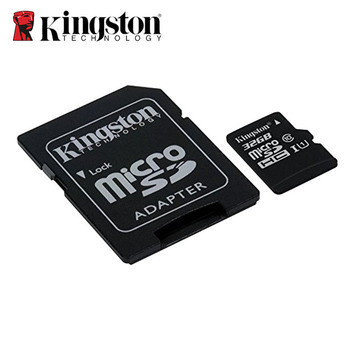 100% Original Kingston Micro SD card 16GB 32GB 64GB MicroSD Memory Card Class10 TF Card MicroSDHC UHS-1 for Smartphone