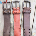 2016 new fashion genuine leather belts for men alloy buckle vintage mens cowskin belts ceinture homme dropshipping PB228