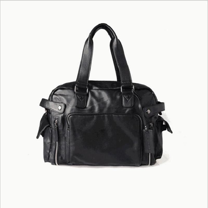 ФОТО 2016 fashion handbags luxury designer leather men shoulder bag men's travel bags,large famous brand men messenger bags