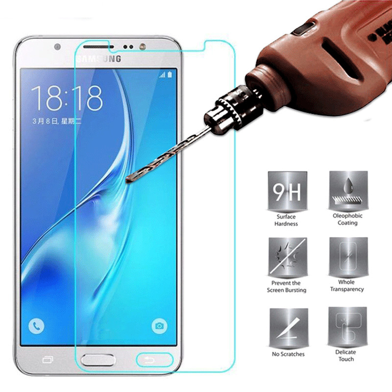 Tempered Glass For Samsung Galaxy J3 J5 J7 A3 A5 A7 2015 2016 2017 A6 J4 J6 Plus A8 2018 On Galax J 4 6 A 3 5 7 Protective Film
