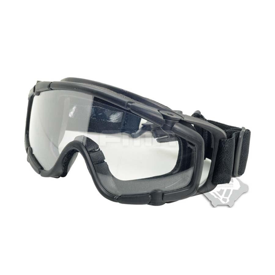 Черный Лыжный Спорт Спортивный Пейнтбол Airsoft Очки незапотевающий баллистических очки для шлем