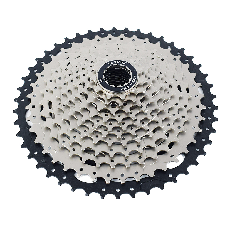 Vg Sports 11 Speed 11-46t Steel Freewheel Cassette Mtb Mountain Bike Flywheel Soft And Light Bicycle Components & Parts