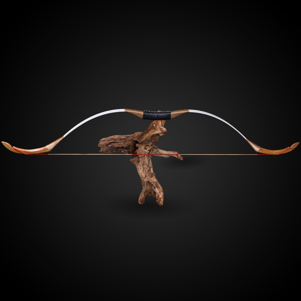 Archery 30lbs bow and bow hunting Recurve Bow Traditional Wooden Longbow for Carbon Fiberglass Arrows Target