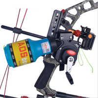 Annonces de tir à l'arc pêche à l'arc Spincast bobine Machine bouteille corde carquois utilisé pour arc composé arc courbe accessoire