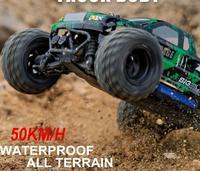 Новые 1:18 автомобили Bigfoot 50 км/ч Радиоуправляемый автомобиль 4WD 2,4 ГГц радиоуправляемые грузовики высокого качества для скалолазания внедоро
