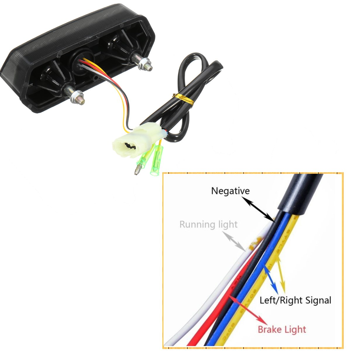 Motorcycle Integrated Tail Light Wiring Harness Manufacturers Uk