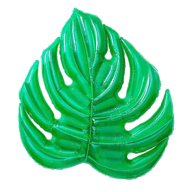 71 Inch Swimming Pool Giant Inflatable Leaves Floatie Adult Air Mattresses Floating Row Swim Rings Holiday Party In Water Toy