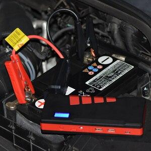 Image 4 - 20000mAh urządzenie do uruchamiania awaryjnego samochodu 1500A akumulator awaryjny pojazdu Auto buster kable rozruchowe Booster Starter urządzenie zapłonowe Power Bank