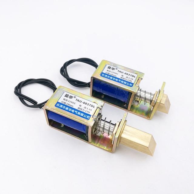 Serrures électriques TAU-S0837DL serrure magnétique dc 6 V 12 V 24 V pour la serrure de porte d'armoire
