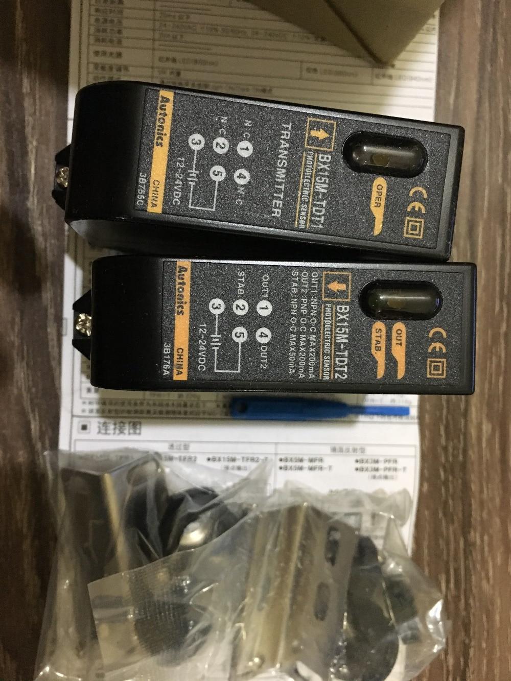new original BX15M-TDT Autonics photoelectric sensors new original bx5m mfr t autonics photoelectric sensors