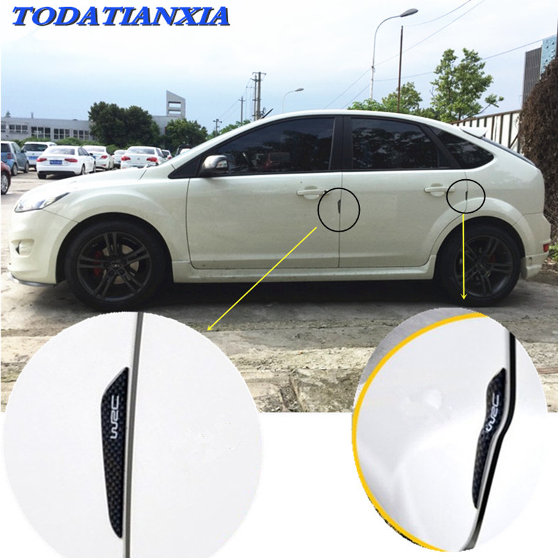 side door edge protection guards protector sticker for <font><b>bmw</b></font> r1150r w5w mini cooper r56 honda <font><b>shadow</b></font> 600 citroen xsara picasso image