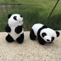 18cm Lovely  Panda Plush Toy Kids Soft Small Charms Stuffed Animal Key Chain Plush Doll Final Fantasy Plush Toys Children's Gift