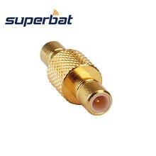 Superbat 5 шт. SMB радиочастотный адаптер SMB Женский Разъем для SMB Разъем коннектор для антенны