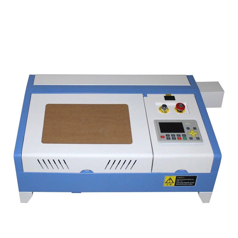 50W 3020 Pro CO2 Laser Gravur Maschine High Speed Arbeit Größe 300*200mm
