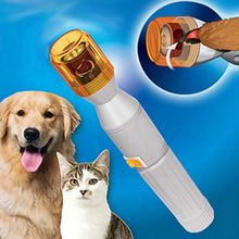 Electric dog nail clippers Pet Nail Grooming Care Grinder Trimmer Clipper File Tools manicuring device