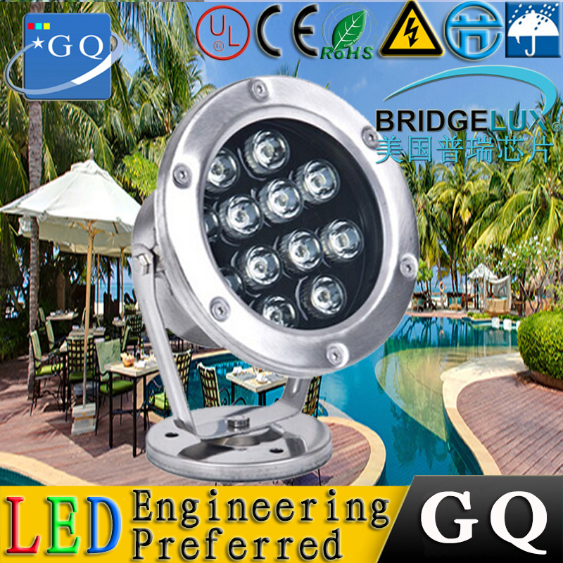 1w 3w 5w 6w 7w 9w 12W 15w 18w 24w 36w 72w DC12V IP 68 Single Color Led Underwater Light Led Outdoor Light  RGB Colorful