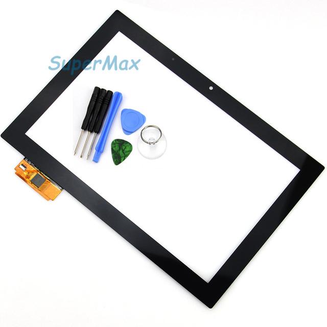 Preto 10.1 polegada tela touch panel tablet pc oem compatível com pmt7177_3g para prestigio multipad 4 diamante pmp7110d_3g