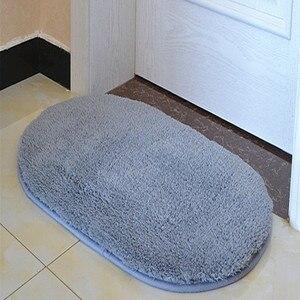 Высококачественный коврик для ванной, мягкий Противоскользящий коврик для пола, коврик для ванной, дверной коврик для ног, твердый напольны...