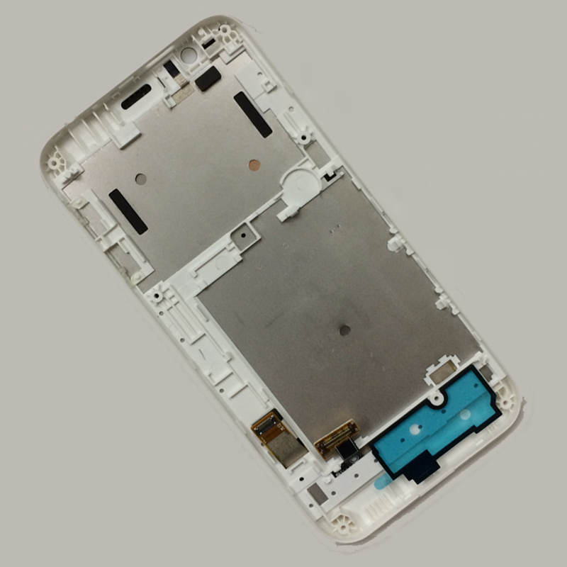 White For HTC Desire 510 D510 Touch Screen Digitizer Sensor Glass + LCD Display Panel Monitor Module Assembly with Frame