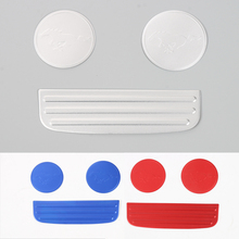 Car Cup Mat Pad For Ford Mustang 2017+ Car styling Decoration Dustproof Non-slip Interior Accessories 3Pcs/set