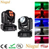 2pcs Lot 4 10W 10W Double Sides RGBW Spot Light LED Moving Head Stage Effect Light