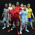 HOT figure 1/6 toys football star male action figure C Ronaldo Messi 1/6 scales soldier moedl boy toy head + body + clothes